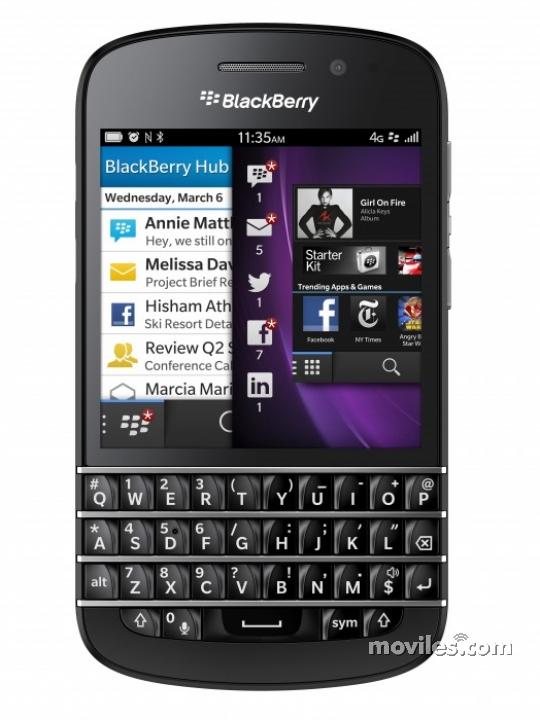 d93fe77973a Fotografías BlackBerry Q10 - Celulares.com México